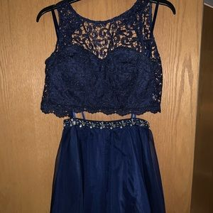 Two piece dress, homecoming or any event!
